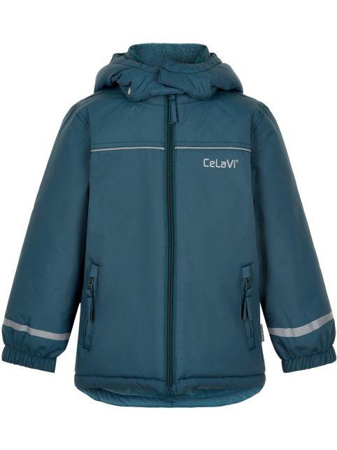 CeLaVi---Snow-jacket-for-kids---Solid---Ice-blue