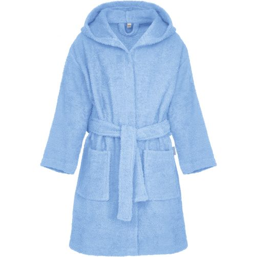 Playshoes---Terry-bath-robe-for-kids---Blue
