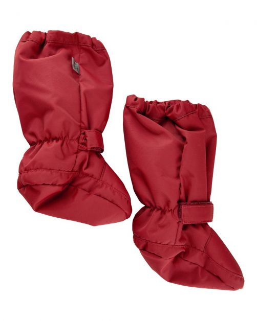 CeLaVi---Overshoes-with-fleece-lining-for-babies---Solid---Dark-red