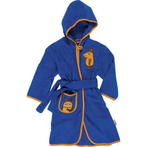 Playshoes---Bathrobe-for-kids---Mouse---Navy