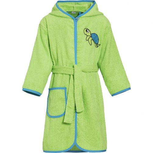 Playshoes---Bathrobe-for-kids---Turtle---Green