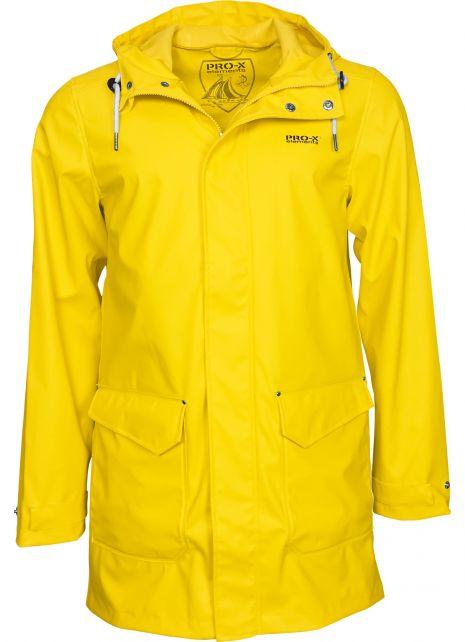Pro-X-Elements---XPlus-stretch-rain-jacket-for-men---Amrum---Yellow