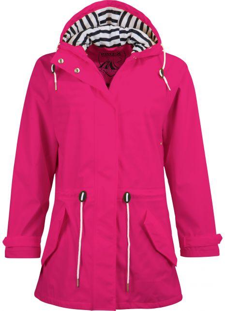 Pro-X-Elements---Rain-coat-with-waist-cord-for-women---Marit---Cherry-pink