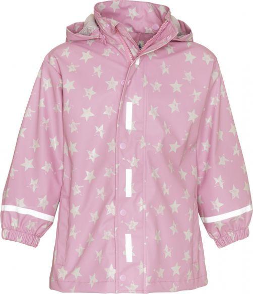 Playshoes---Rainjacket-for-kids---Stars---Light-Pink