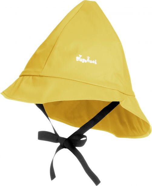 Playshoes---Rain-cap-with-cord---Yellow