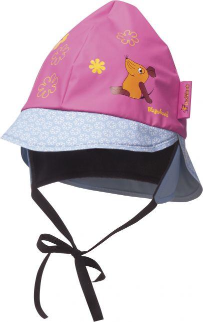 Playshoes---Rain-cap-Mouse---Pink