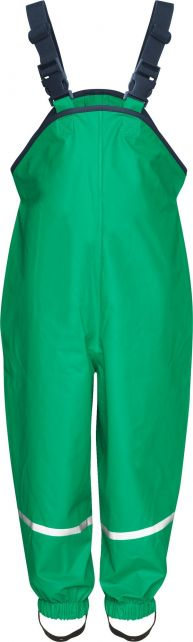 Playshoes---Rain-pants-with-suspenders---Green