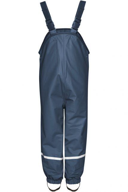 Playshoes---Rain-Bib-Trousers-with-Fleece-lining---Navy