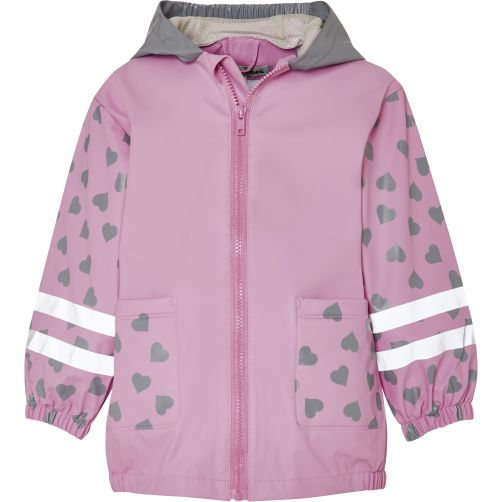 Playshoes---Raincoat-for-kids---Cat---Pink