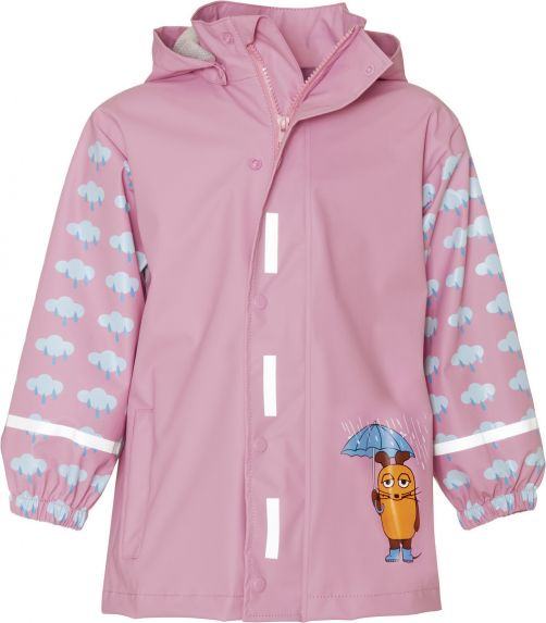 Playshoes---Rainjacket-for-kids---Mouse-&-Elephant---Light-Pink