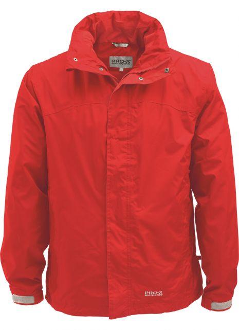 Pro-X-Elements---Packable-rain-jacket-for-men---Meran---Ruby-red