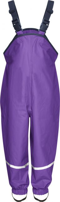 Playshoes---Rain-Pants-with-suspenders-for-kids---Purple