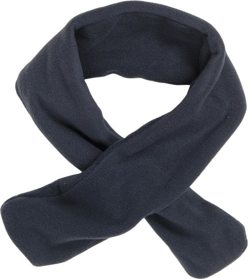 Playshoes---Fleece-shawl-with-loophole---Navy