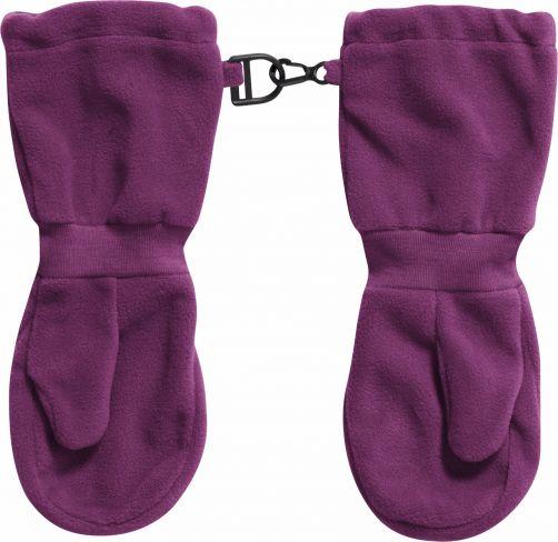 Playshoes---Fleece-Mittens---Purple
