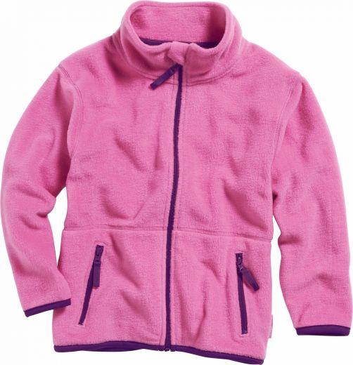 Playshoes---Fleece-jack-with-long-sleeves---Pink/Purple