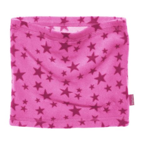 Playshoes---Fleece-tube-scarf-for-kids---Onesize---Star---Pink