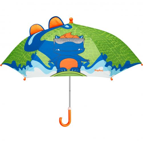 Playshoes---Umbrella-for-kids---Dino---Green