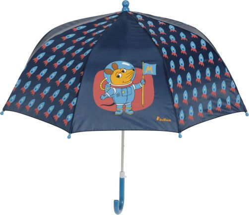Playshoes---Umbrella-for-kids---Mouse---Outer-Space---Navy