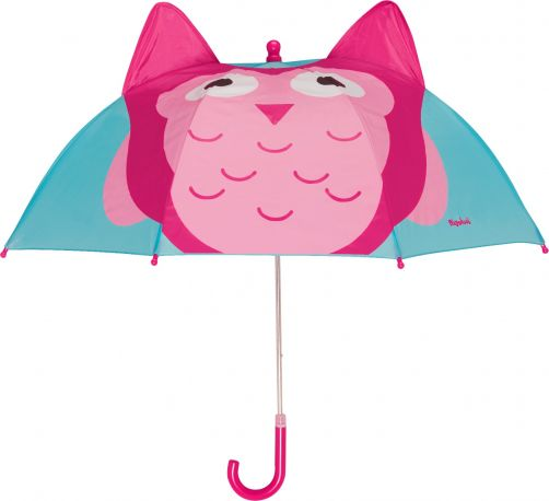 Playshoes---Children's-umbrella-with-Owl---Turquoise