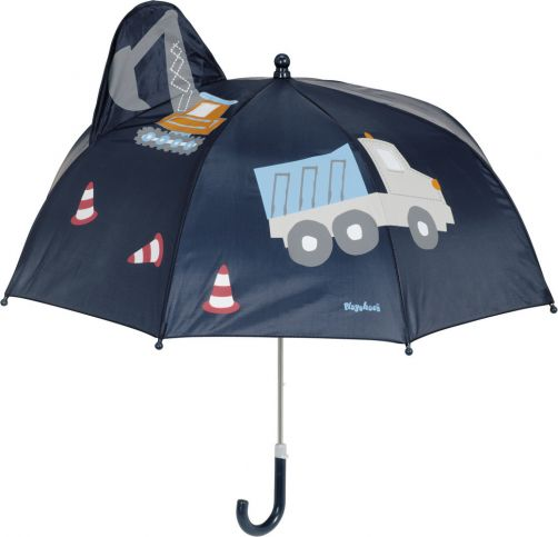 Playshoes---Umbrella-3D-for-kids---Construction---navy