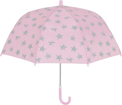 Playshoes---Umbrella-for-kids---Stars---Light-pink