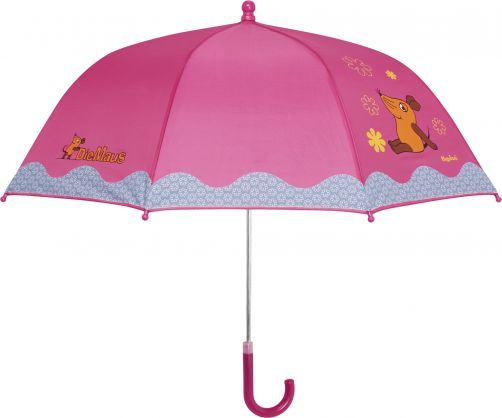 Playshoes---Children's-umbrella-with-Mouse---Red