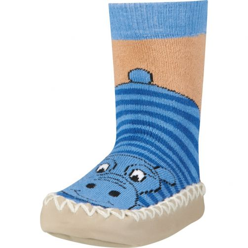 Playshoes---Home-shoes-for-kids---Hippo---Blue