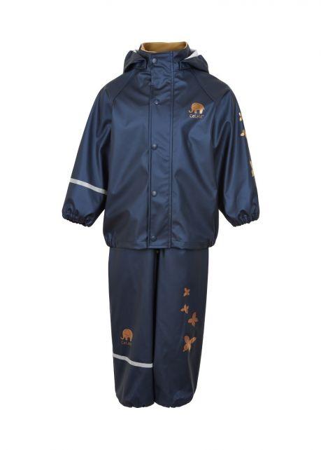 CeLavi---Rainwear-suit-for-kids---Solid-Mettalic---Dark-Blue