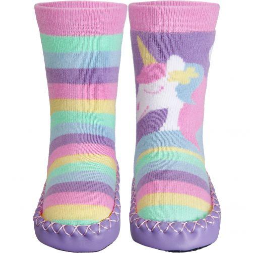 Playshoes---Home-shoes-for-kids---Unicorn---Rainbow