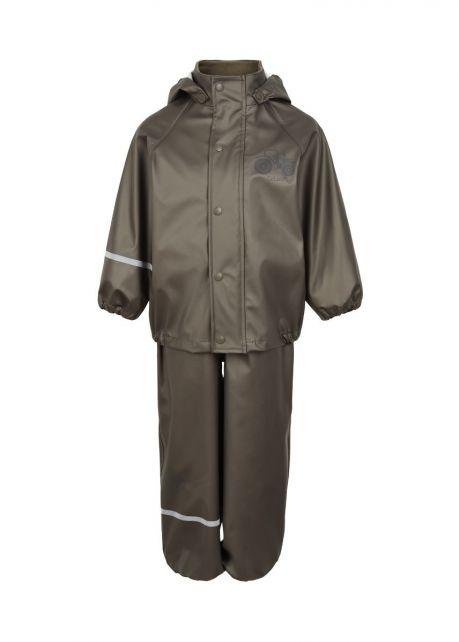 CeLavi---Rainwear-suit-for-kids---Solid-Mettalic---Grey