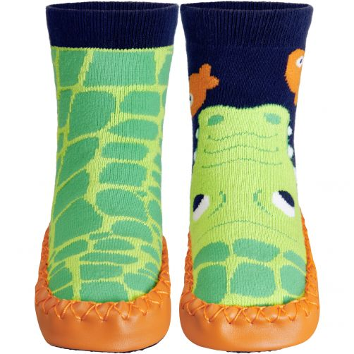 Playshoes---Home-shoes-for-kids---Crocodile---Green-
