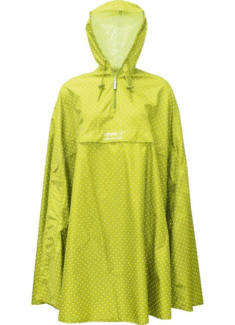 Pro-X-Elements---Packable-rain-poncho-for-women---Alena---Wild-lime