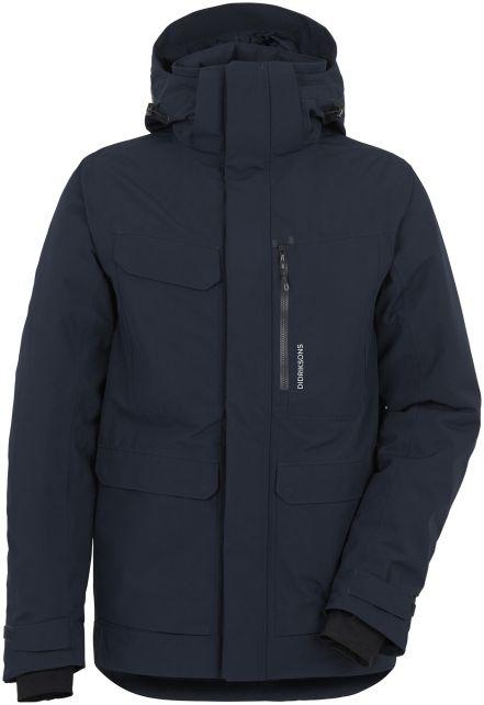 Didriksons---Raincoat-for-men---Sebastian-Parka---Dark-Night-Blue