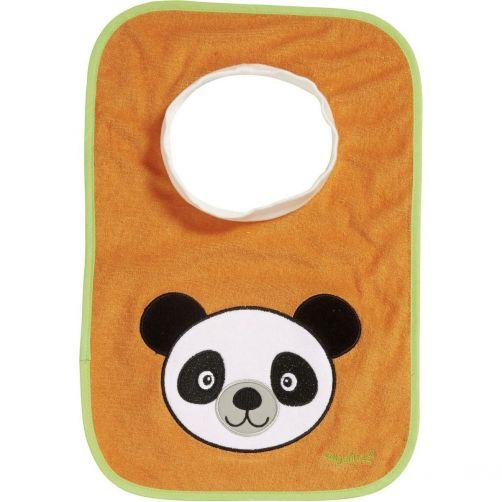 Playshoes---Slip-on-bib-for-kids---Onesize---Orange