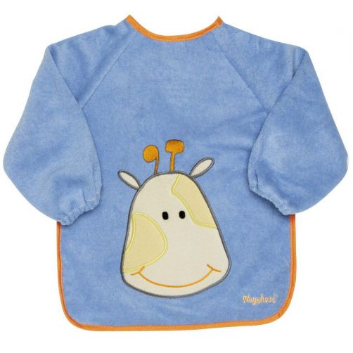 Playshoes---Sleeve-bib-with-long-sleeves-for-kids---Onesize---Blue