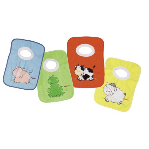 Playshoes---Four-pack-bibs-for-kids---Original---Onesize-