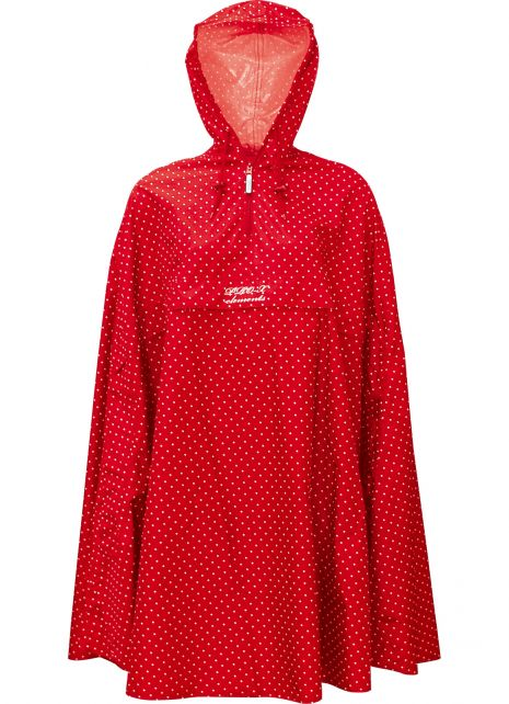 Pro-X-Elements---Packable-rain-poncho-for-women---Alena---Red