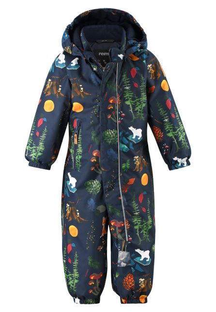 Reima---Snowsuit-for-babies---Reimatec---Puhuri---Navy-Forest