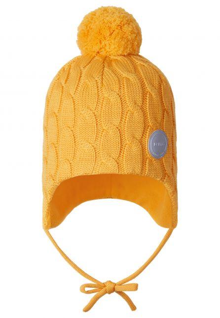 Reima---Beanie-for-babies---Nunavat---Orange-yellow