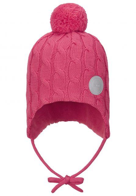 Reima---Beanie-for-babies---Nunavut---Azalea-pink