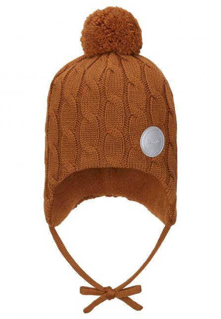 Reima---Beanie-for-babies---Nunavat---Cinnamon-brown