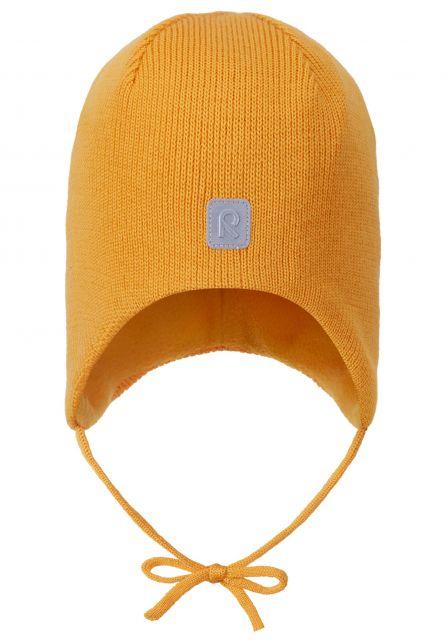 Reima---Beanie-for-babies---Piponen---Orange-yellow