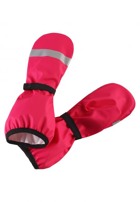 Reima---Rain-mittens-with-lining-for-girls---Puro---Candy-Pink