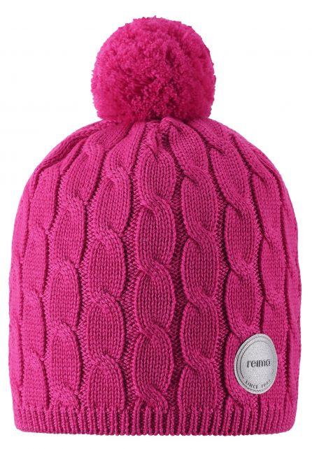 Reima---Beanie-for-girls---Nyksund---Raspberry-pink
