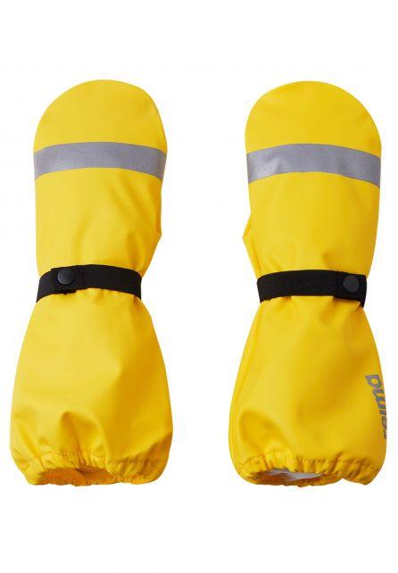 Reima---Rain-mittens-without-lining-for-children---Kura---Yellow