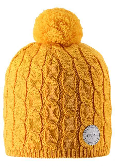 Reima---Beanie-for-children---Nyksund---Warm-Yellow