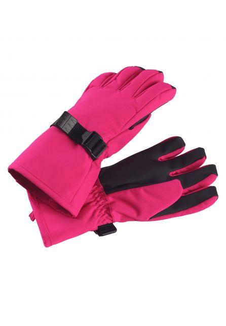 Reima---Winter-gloves-for-girls---Tartu---Raspberry-pink