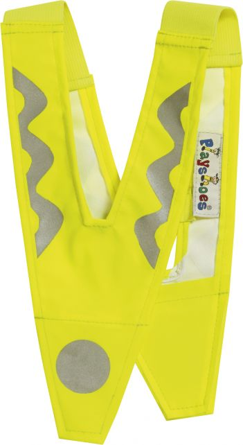Playshoes---Reflector-collar-for-childrens---Neon-Yellow