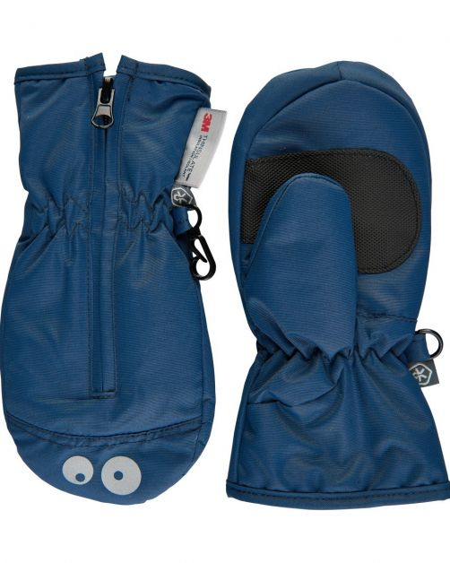 Color-Kids---Mittens-with-zipper-for-little-children---Dark-blue