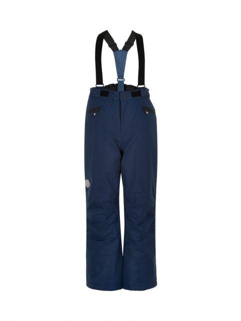 Color-Kids---Ski-pants-with-pockets-for-children---Solid---Dark-blue